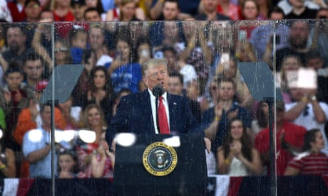 Donald Trump delivers July 4th speech – as it happened