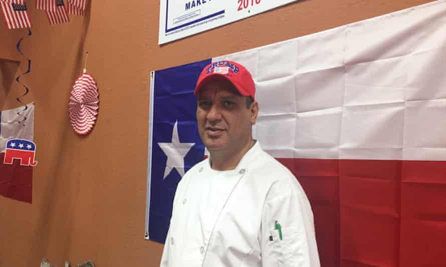 Trump Cafe owner Eddie Hawa