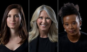 Missy Higgins, Tracey Spicer and Faustina 'Fuzzy' Agolley are among the women spearheading Now Australia