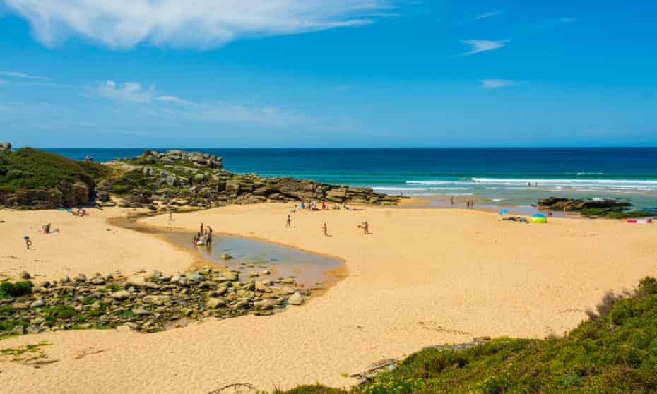 muelle de la playa