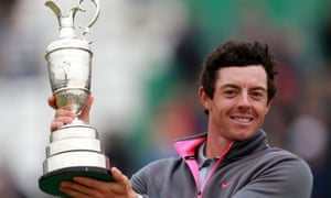 In 2014, McIlroy won the Claret Jug at Hoylake, one of his four majors.