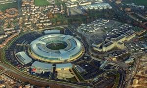 GCHQ in Cheltenham as seen from the air