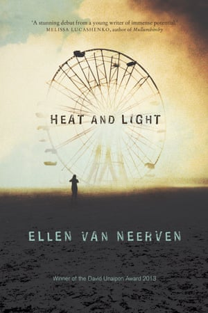 Cover image for the book Heat and Light by Australian writer Ellen Van Neerven