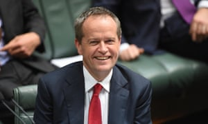 Federal Leader of the Opposition Bill Shorten during Question Time at Parliament House in Canberra, Wednesday, June 17, 2015.
