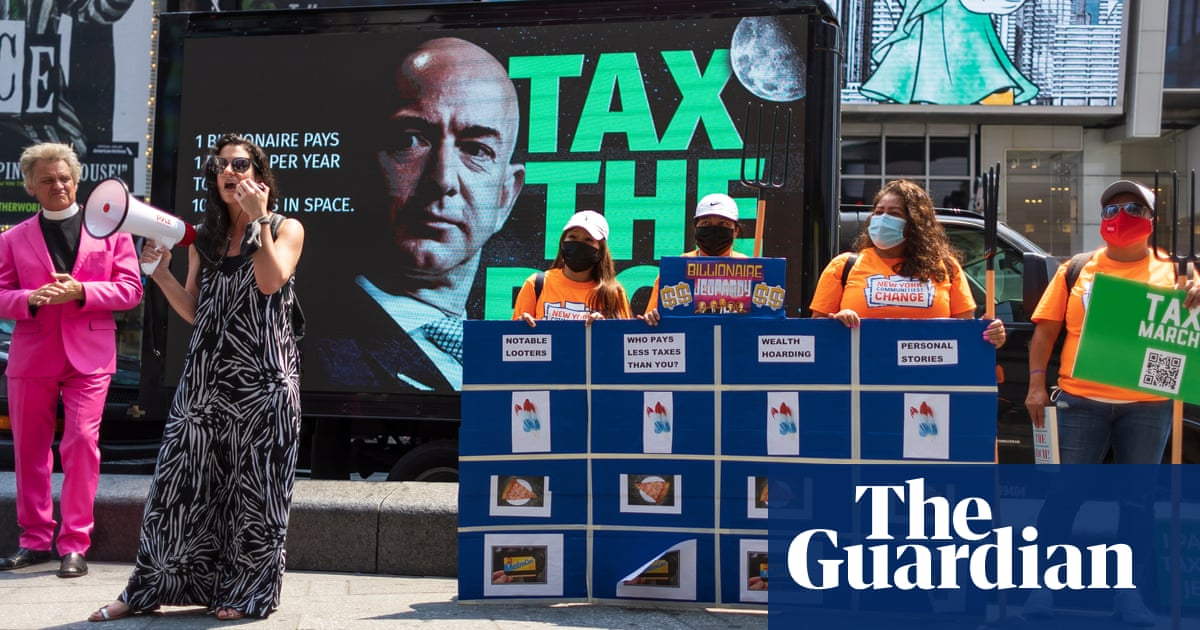 Tax on billionaires' Covid windfall could vaccinate every adult on Earth
