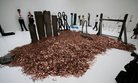 Michael Dean's Turner prize installation at Tate Britain.