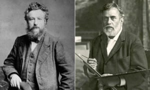 Pioneers in craft … William Morris (left) and Mariano Fortuny.