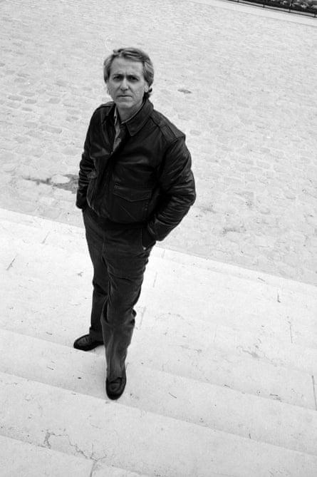 Don DeLillo photographed in Paris, April 1992.
