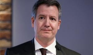 Former Labour party MP Chris Leslie
