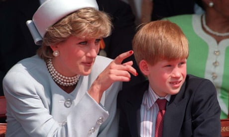 Prince Harry sought counselling after 'total chaos' following mother's death