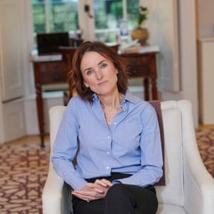 Juliet Rosenfeld sitting in an armchair