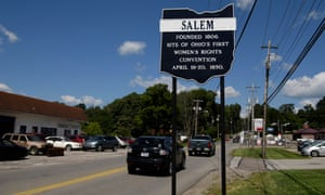 Salem, Ohio, home to Fresh Mark, where Ice conducted one of the biggest raids on a workplace in the past decade.
