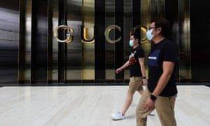 The Gucci store in Marina Bay Sands, Singapore