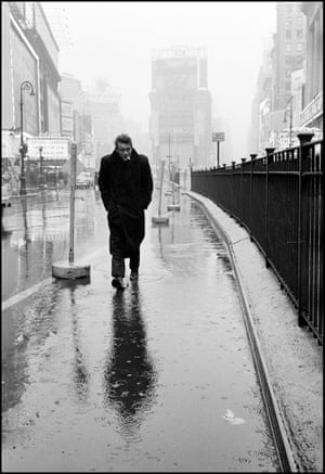 James Dean in Times Square, 1955