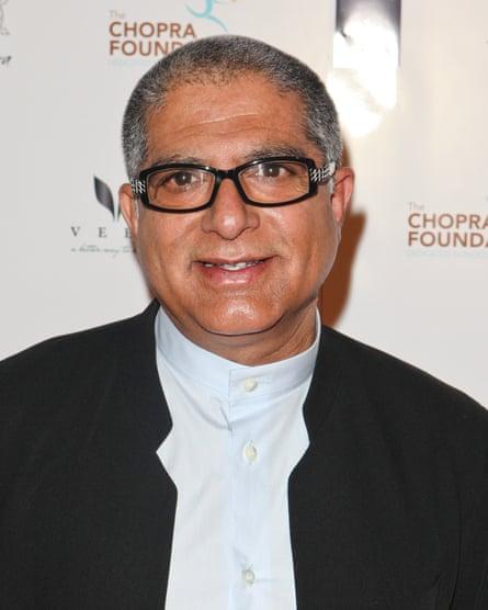 Deepak Chopra in Los Angeles in 2010.