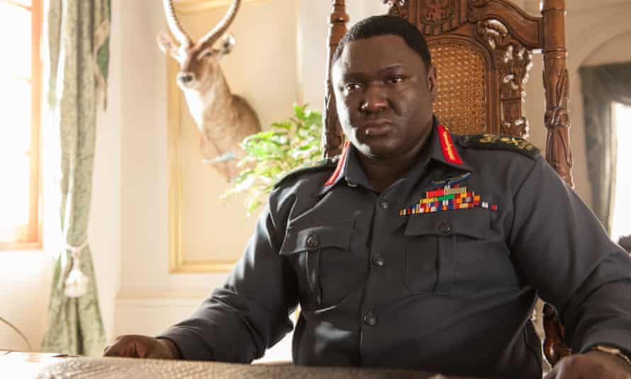 Restrained … Nonso Anosie as President Idi Amin.