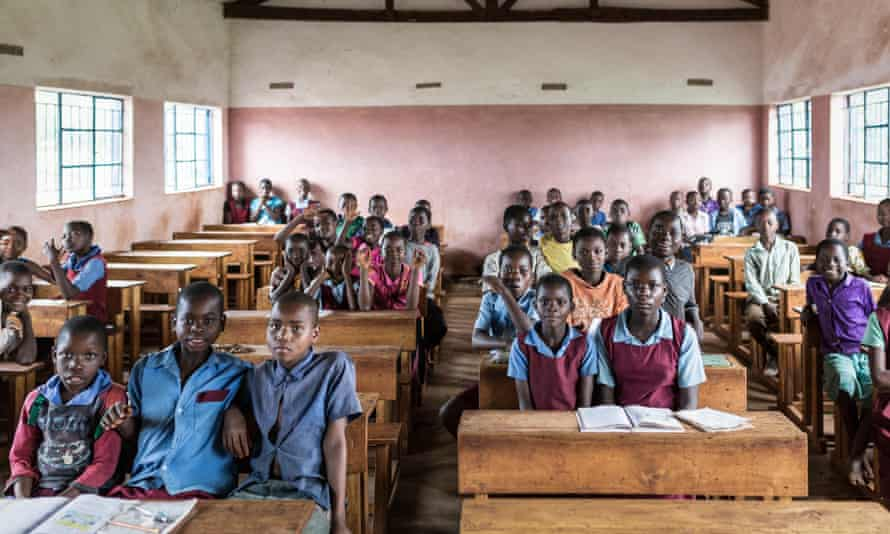 90% of the children at the Sukambizi Association Trust in Malawi attend primary school.