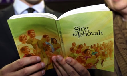 A Jehovah's Witnesses hymn book