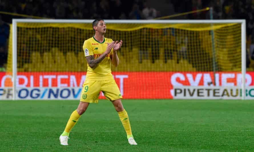Emiliano Sala has scored 10 goals in Ligue 1 this season.