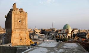 Al-Nouri mosque in Mosul, Iraq