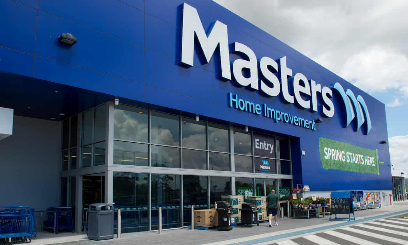 Woolworths to ditch struggling Masters home improvement business