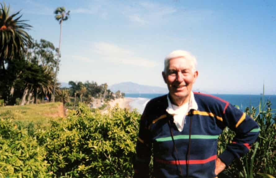 Bill Kaysing, the man who started the moon-hoax conspiracy.