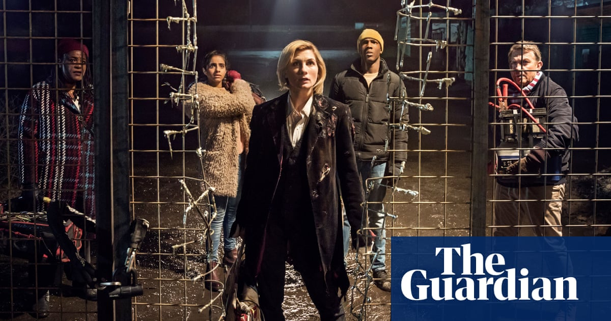 doctor who first look jodie whittaker fizzes with energy as female time lord television radio the guardian