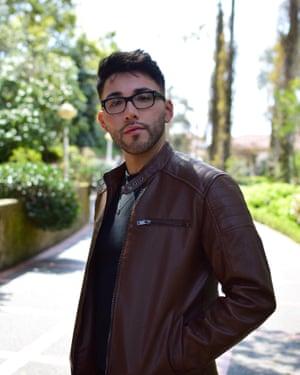 Jonathan Cañez lost his job during the coronavirus pandemic.