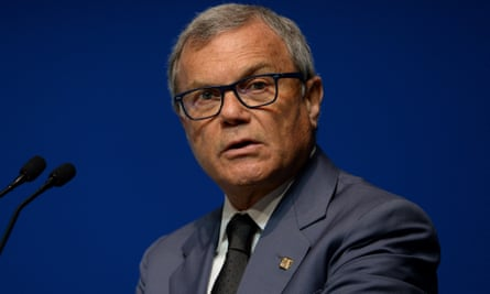 Sir Martin Sorrell, CEO of GroupM's parent company WPP.