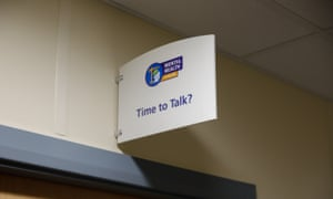 A 'time to talk' room at Hinckley Point.