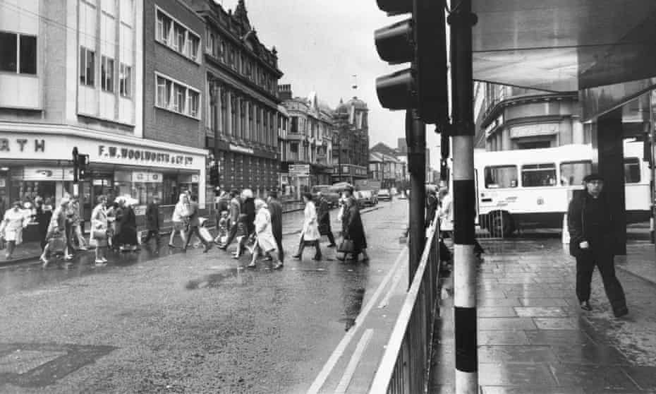 Deansgate, Bolton in the 1970s
