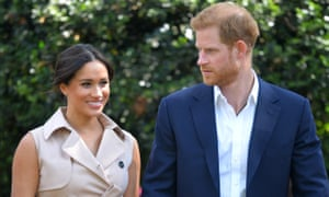 An ethical royal update ... Harry and Meghan in Johannesburg.