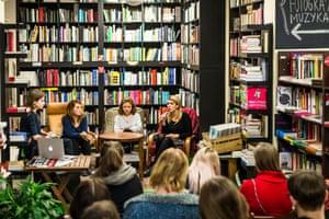"""Justyna Wydrzynska, Natalia Broniarczyk and Karolina Wieckiewicz call themselves """"Abortion Dream Team""""."""