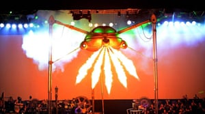 Jeff Wayne's The War of the Worlds.