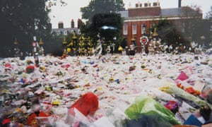 Beverley Siddle's photo of flowers outside Kensington Palace in August, 1997