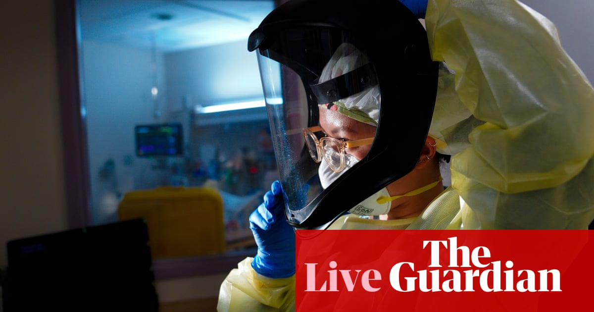 Coronavirus live news: US hospitalisations at record level as Victoria passes elimination benchmark – The Guardian