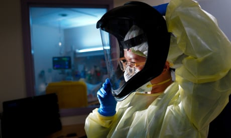 Coronavirus live news: US hospitalisations at record level as Victoria passes elimination benchmark