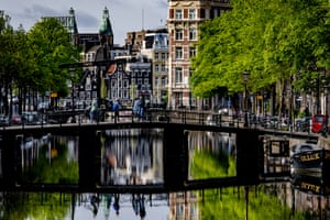 Amsterdam in lockdown