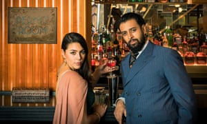 Sophie Khan Levy and Vikash Bhai, who will appear in Night at the Bombay Roxy