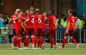 Goal for Switzerland!
