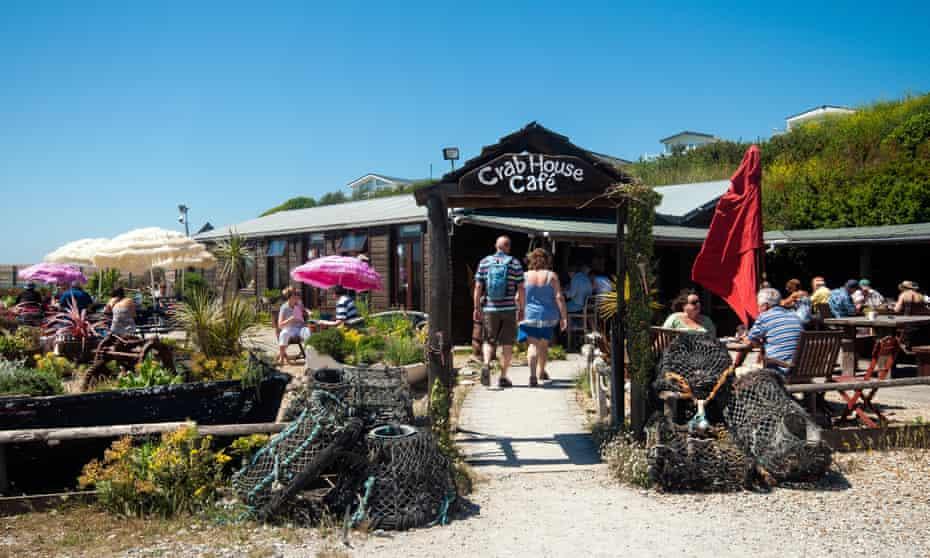 The Crab House Café in Wyke Regis, Dorset, England, UK