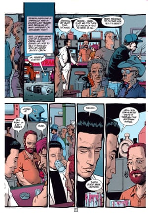 Steve Dillon won awards at the Eisners, the Eagle awards and the National Comic awards for Preacher.