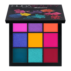 Electric Obsessions palette, £25, by Huda Beauty, available at Cult Beauty.
