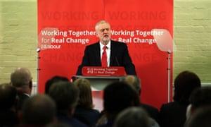 Corbyn visit to Peterborough