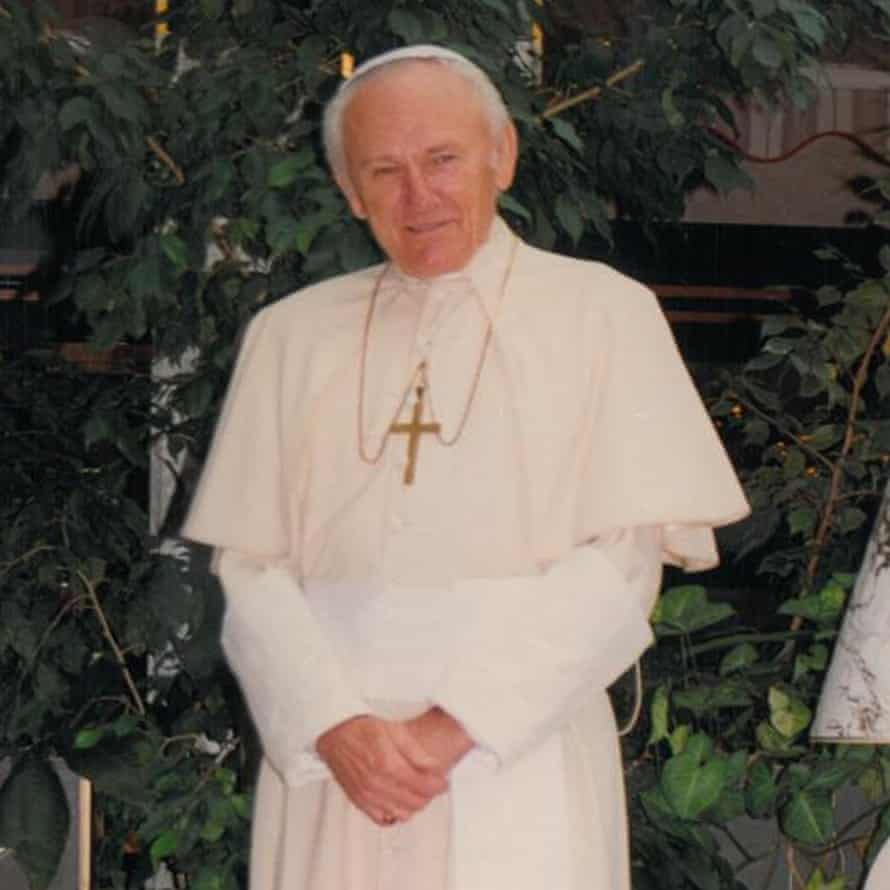 Gene Greytak as Pope John Paul II.