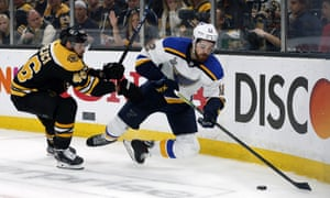 Stanley Cup Final Game 7 St Louis Blues 4 1 Boston Bruins As It