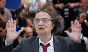 Jean-Pierre Leaud poses during a photocall for the film La Mort De Louis XIV (The Death of Louis XIV)