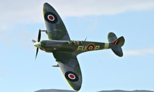 'The Spitfire is coming in low over our green and pleasant land.'