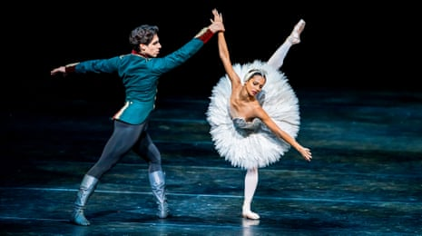 Francesca Hayward and Cesar Corrales in Swan Lake from Within The Golden Hou.