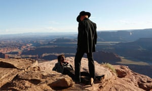 Westworld, the wild-west theme park where humans can live out their fantasies.